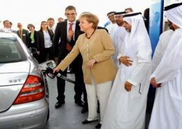 German Chancellor and ADNOC CEO Inaugurated the first CNG Filling Station in Abu Dhabi
